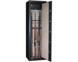 Armoire 16 armes dont 8 avec lunette et coffre intérieur INFAC SAFE