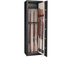 Armoire 8 armes avec lunette + 2 dans la porte - coffre intérieur