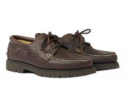 Chaussures en cuir Tarmac Marron foncé