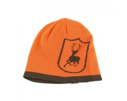 Bonnet Deerhunter Orange Kaki Réversible