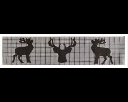 Boudin de porte 3 cerfs