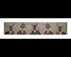 Boudin de porte cerf renard chevreuil habillés