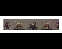 Boudin de porte loups cerfs ours habillés