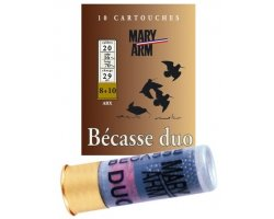 Cartouche_1_Bécasse_Duo_29_cal_20_Mary_Arm_cote_chasse