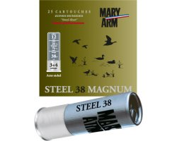 cartouche_acier_steel_38_magnum_mary_arm_cote_chasse