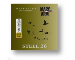 Cartouche_Steel_26_cal_16_Mary_Arm_cote_chasse