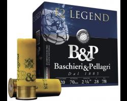 Cartouches B&P F2 Legend Cal 20 - 26g