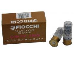 Cartouches Fiocchi 12 HV BJ Chevrotines cal 12