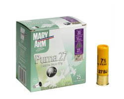 Cartouches Puma 27 cal 20 Mary Arm