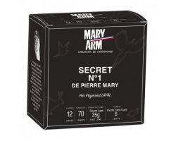 Cartouches Secret N°1 cal 12 Mary Arm