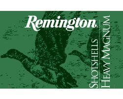 Cartouches Remington Heavy magnum 50 BJ cal 12