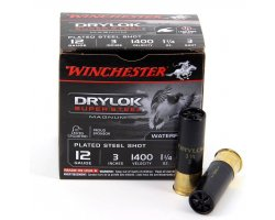 Cartouches Winchester Drylok Super Steel Magnum cal 12