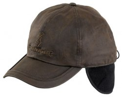 Casquette Browning marron Cache oreilles Winter Wax Fleece