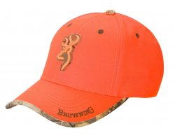 casquette_browning_sure_shot_orange_cote_chasse