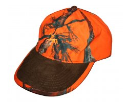 Casquette camo orange fluo Cap Ghost Verney Carron