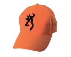 Casquette orange fluo Safety 3D