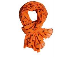 Chèche orange fluo Verney Carron
