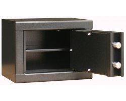 Coffre 3 armes de poing et objets divers avec étagère Infac Safe