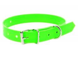 Collier PVC vert fluo 1