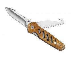 Couteau Alpha Crosslock Orange BUCK