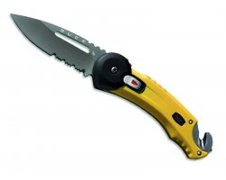 Couteau Redpoint Rescue Jaune BUCK