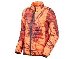 Doudoune de chasse enfant camo orange fluo Stagunt
