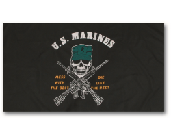 Drapeau US Marines