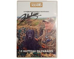 """DVD """"Le Hutteau du Paradis"""" dédicassé SEASONS"""