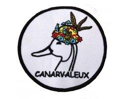 Écusson brodé Le Canarvaleux 9cm