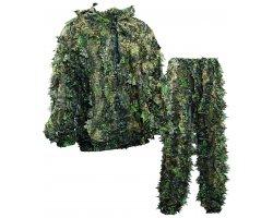 Ensemble veste pantalon camouflage 3D