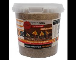 Farine insectivore premium 100% insecte spécial jeunes oiseaux Protosect
