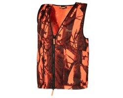 Gilet de chasse Protector camouflage Blaze Deerhunter