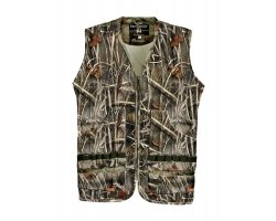 Gilet de chasse sans manches Palombe GhostCamo Wet Percussion