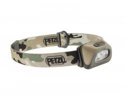 Lampe Frontale Tactikka + camouflage PETZL