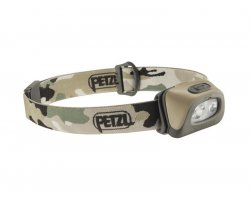 Lampe Frontale Tactikka + RGB camouflage PETZL