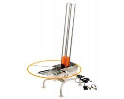 Lanceur plateaux ball trap électrique sur pieds