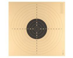 Lot de 100 cibles cartons avec encoches 55 x 53 cm