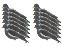 Pack 12 Appelants Pigeons ramiers sans pattes