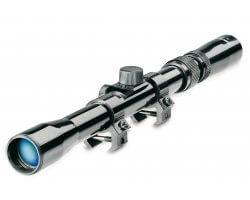 Lunette de tir Tasco Rimfire 3-7x20 pour 22 LR - Reticule 30/30 avec colliers