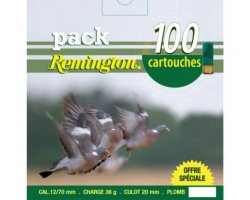 Pack_100_cartouches_Remington_pigeon_36_BJ_cal_12_cote-chasse