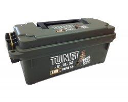 Pack 100 cartouches Tunet grive 32 cal 12 avec boîte plastique