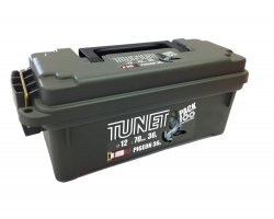 Pack 100 cartouches Tunet pigeon 36 cal 12 avec boîte plastique