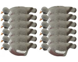 Pack 12 appelants pigeons coquilles (creux)