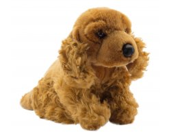 Peluche Cocker marron