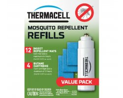 Recharges 48h  anti-moustiques mouches et insectes THERMACELL