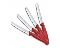 Pack couteau de table rouge VICTORINOX