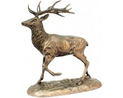 statuette_cerf_a_l_arret_en_bronze_cote_chasse