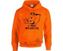 Sweat orange fluo XTREM WILDBOAR