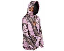 Sweat femme camouflage rose Mossy Oak Pink