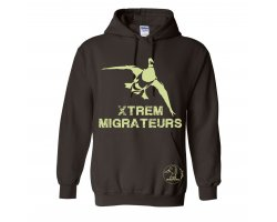 Sweat marron colvert XTREM MIGRATEURS